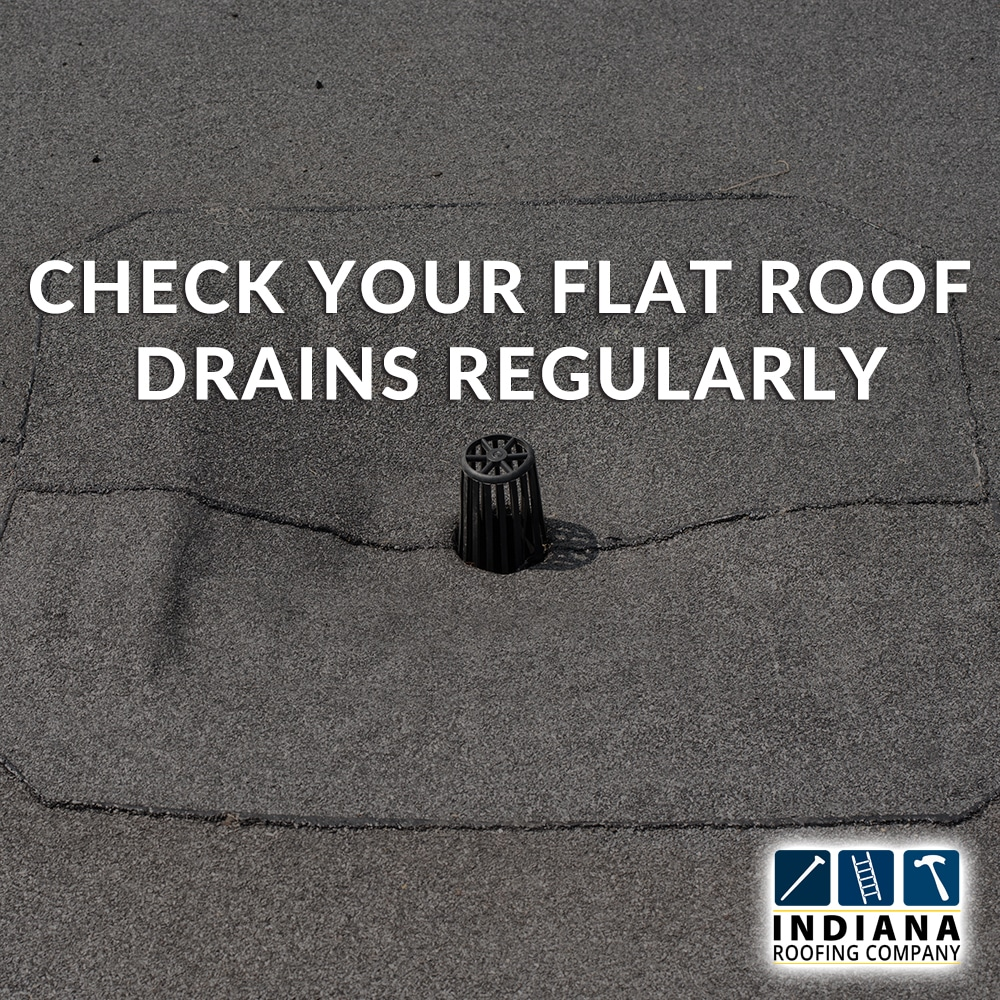 Check Your Flat Roof Drains Regularly
