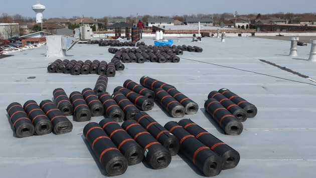 Indiana Roofing Company Industrial Roof Replacement