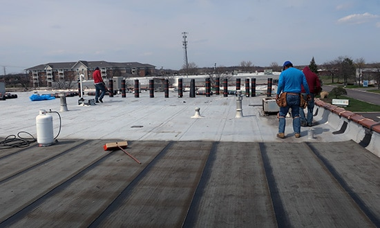 Industrial Roofing - Indiana Roofing Company
